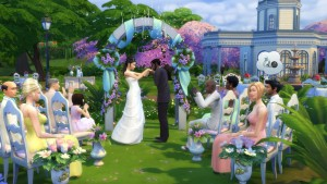 Los Sims 4 para PC: ¿nos vamos de boda?