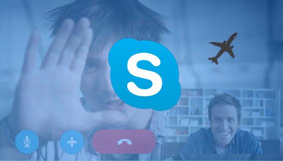 Skype app relaciones a distancia