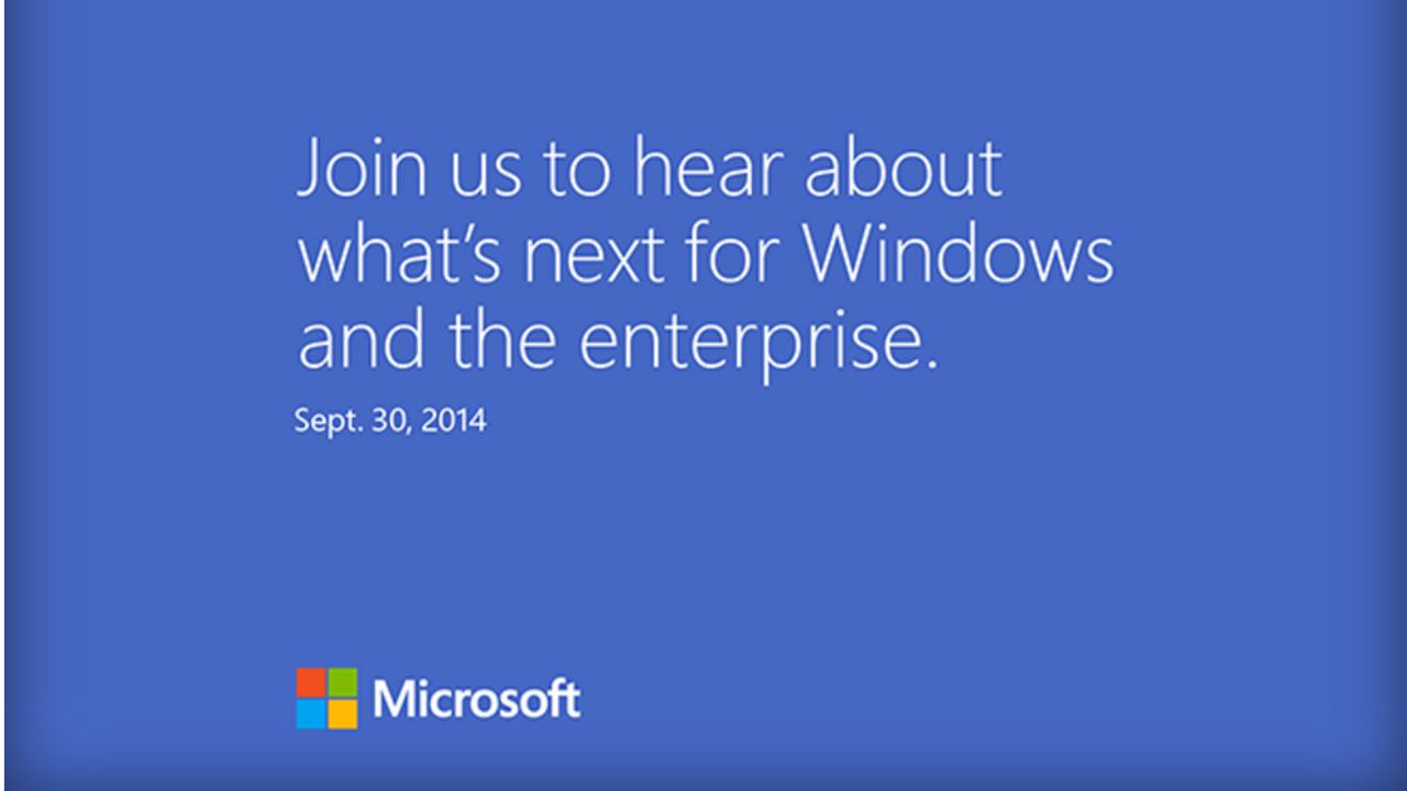 """Verás Windows 9, """"lo próximo de Windows"""", a finales de mes"""
