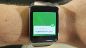 WhatsApp para Android invade la muñeca de tu mano