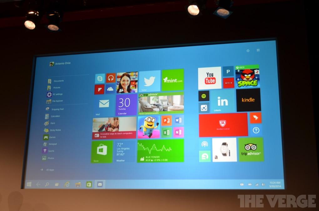 Windows 10 e a nova tela dos blocos dinâmicos