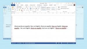 Cómo evitar que Word cambie el idioma de la corrección ortográfica