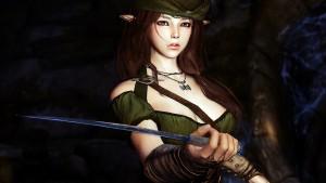 En Skyrim las elfas monas hablan en japonés