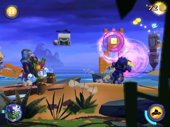 Angry Birds Transformers: faites appel à vos alliés