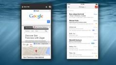 Google adapta Chrome y Gmail a las pantallas de iPhone 6 y iPhone 6 Plus