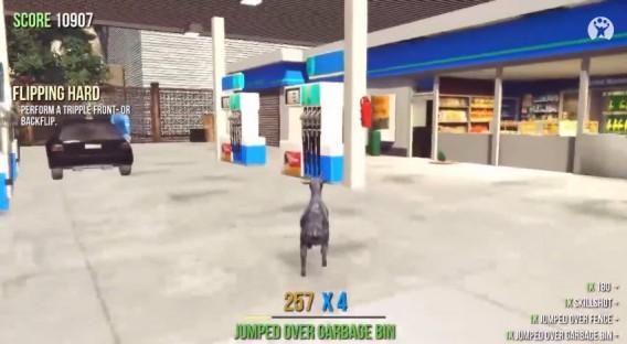 Goat-Simulator - postos de gasolina que explodem com um coice