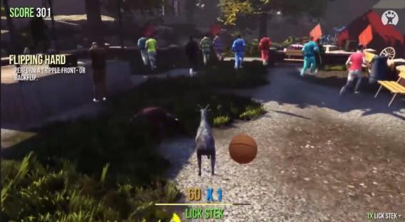 Goat-Simulator - Acabando com a festa, qualquer festa