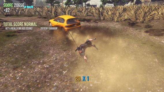 Goat-Simulator língua mutante manipula tudo o que encontra