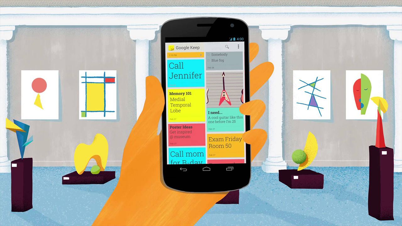 Consejos para vivir mejor: Google Keep para organizarte