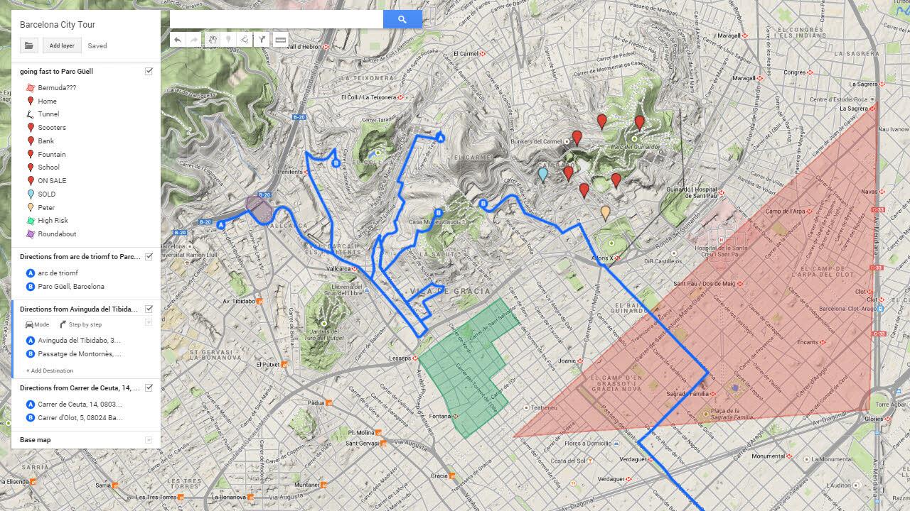 Crear Un Mapa Personalizado.Google My Maps Como Crear Y Compartir Mapas Personalizados