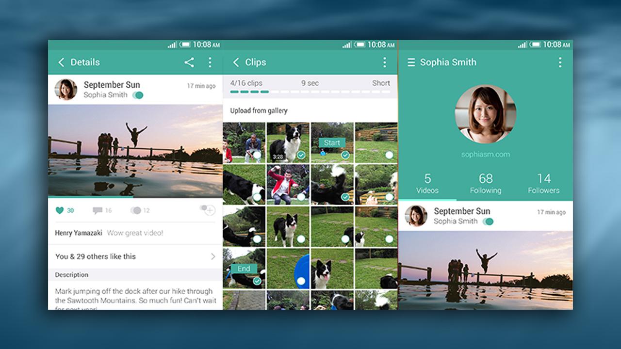 HTC lanza Zoe: ¿es posible superar a Instagram?