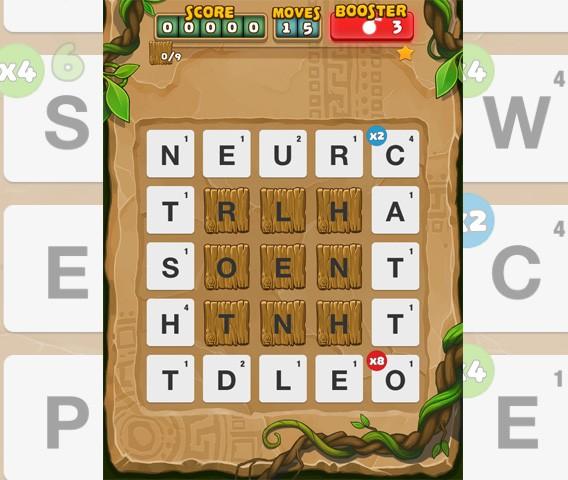 Ruzzle Adventure: éliminez les lettres en bois