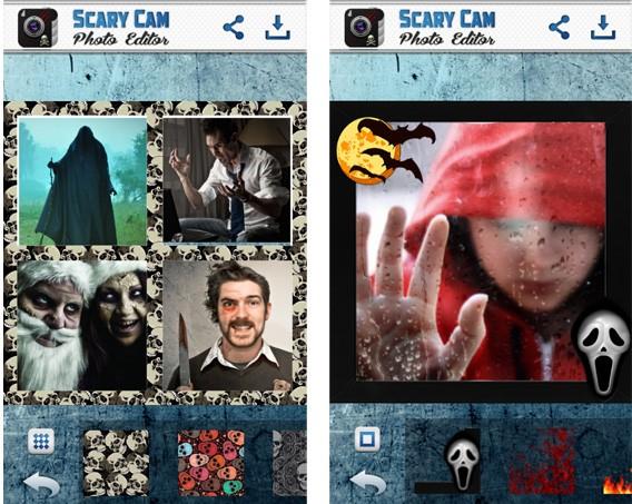 Scary Cam Photo Editor