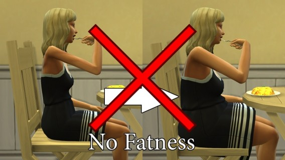No Fatness/No Muscles 1