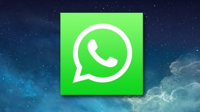 WhatsApp for iOS header