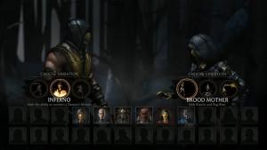 Mortal Kombat X – Luchadores: nueva información