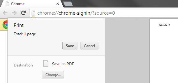 Quittung als PDF
