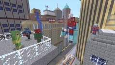 Vídeo: Steve, héroe de Minecraft, se enfrenta a... ¿¡Los Vengadores!?