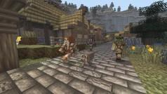 Fan de Minecraft crea una ciudad de mitos y leyendas