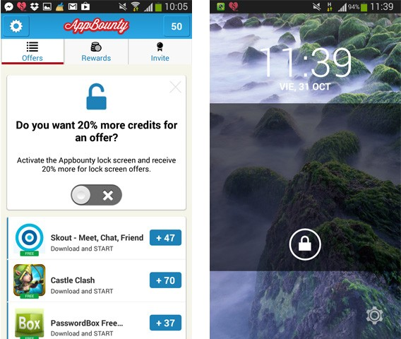 AppBounty-Lock-Screen