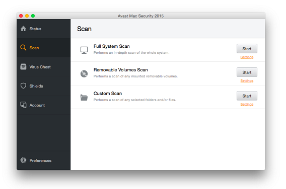 Avast for Mac 2015