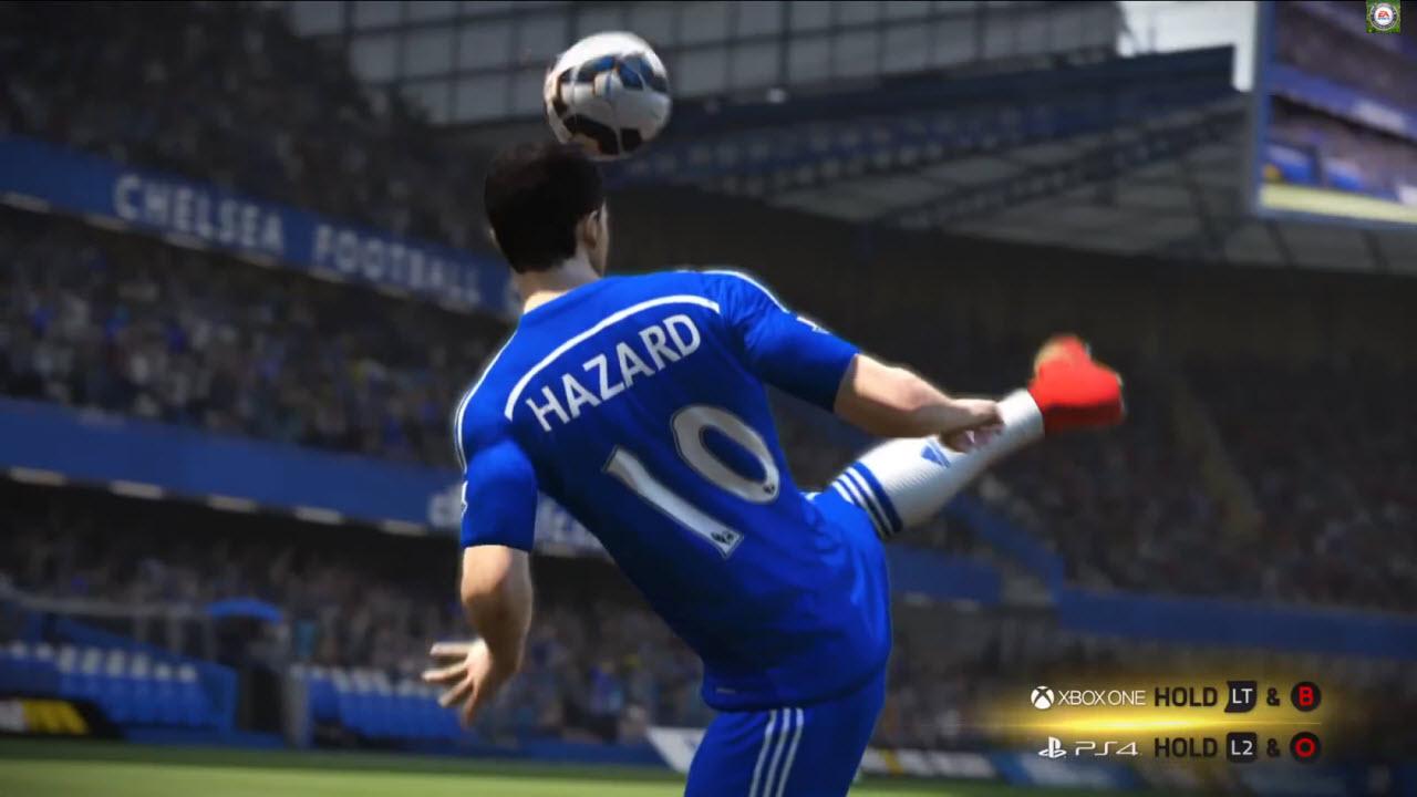 FIFA 15: cómo realizar los nuevos malabarismos