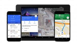 Google Maps se actualiza con nueva interfaz, OpenTable y Uber