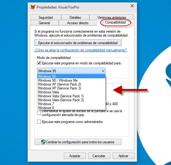 C mo abrir programas antiguos en windows 10 for Programas de diseno de interiores para windows 8