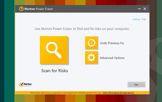 Norton Power Eraser 2014 é uma ferramenta perfeita para deletar vírus