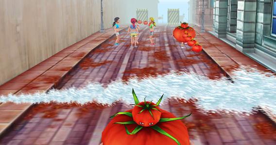 Juego Tomatina
