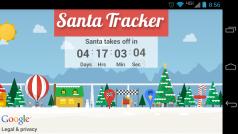 Acompaña a Papá Noel mientras reparte regalos con esta app