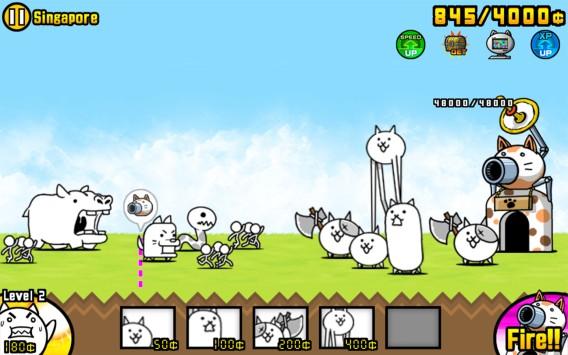 The battle cats: alors là, pour le coup, oui c'est bizarre