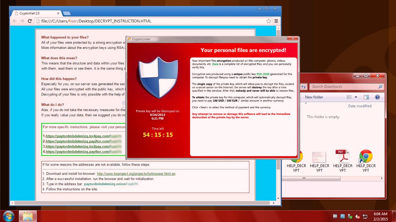Cómo defender tus archivos contra CryptoLocker y CryptoWall