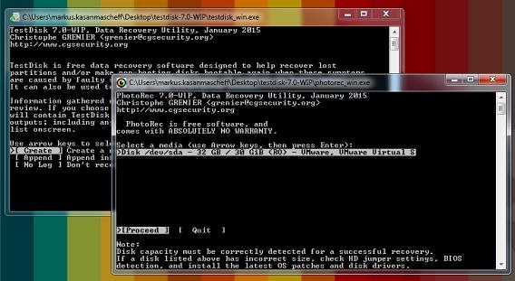 testdisk recuperador de imagenes, vídeos y archivos borrados