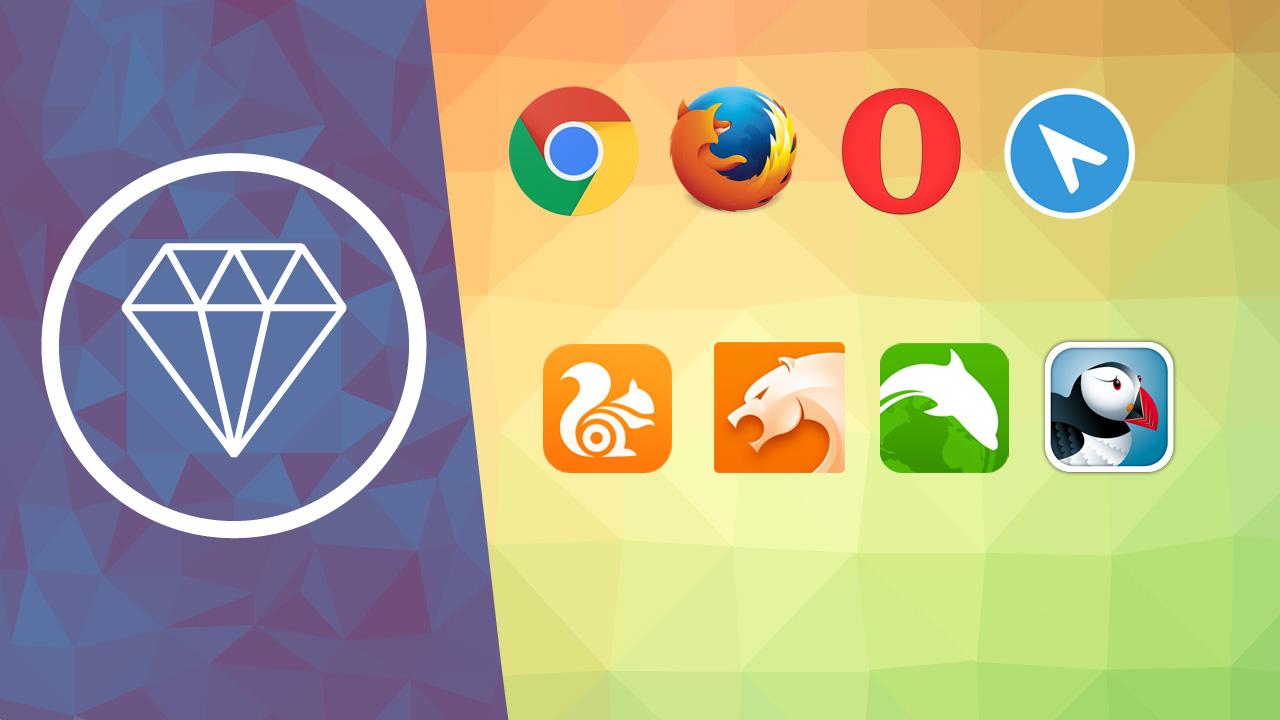 Comparativa de navegadores para Android