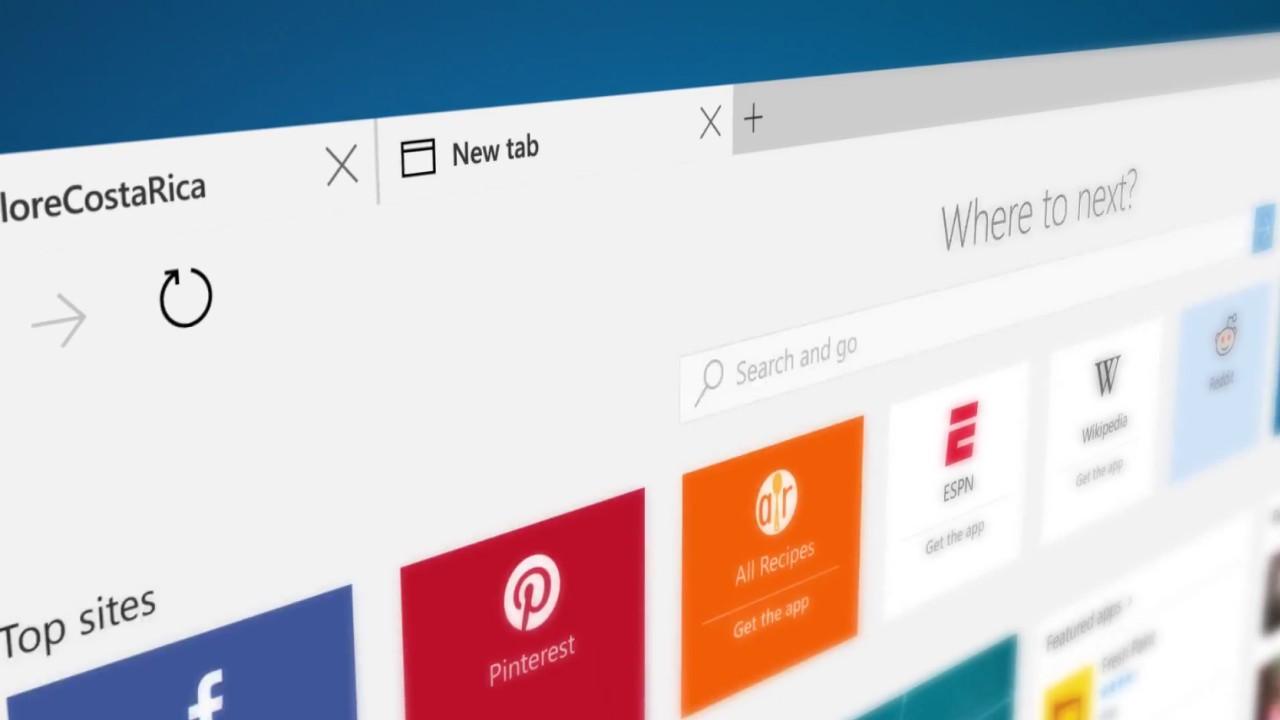 5 cosas que debes saber sobre Edge, el nuevo navegador de Windows 10