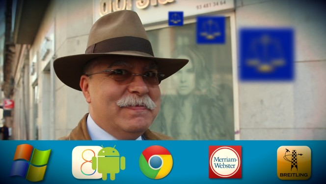 Juan Alemany, el abogado dandy con dos teléfonos móviles