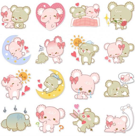 Dime de qu humor est s y te dir qu stickers de facebook for Calcomanias para pared infantiles