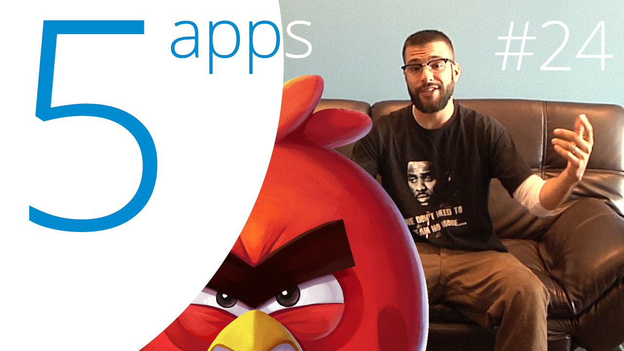 FNAF 4, SOMA Messenger, Hora de Aventuras, KitCut y Angry Birds, las 5 Apps que Debes Probar Este Fin de Semana