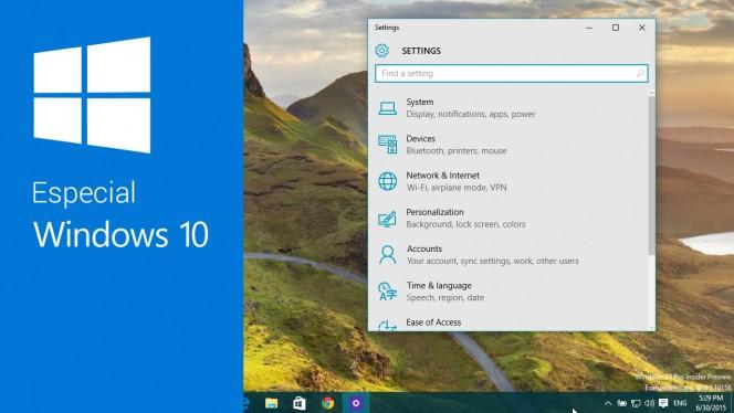 10 consejos para personalizar Windows 10