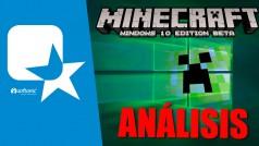 Minecraft edición especial Windows 10, nuestra app de la semana