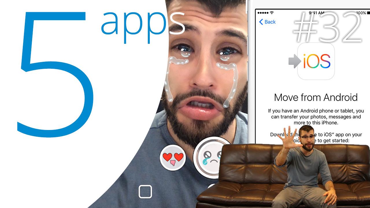 Basil, Move to iOS, FIFA 16, Snapchat y Office 2016: las 5 Apps que Debes Probar Esta Semana