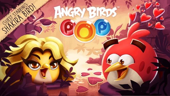 Shakira ficha por Angry Birds. ¿Veremos también a su novio Piqué?