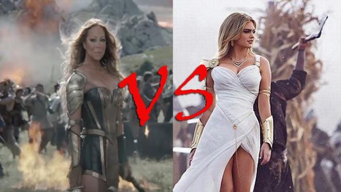 Mariah Carey vs Kate Upton: ¿cuál te gusta más como heroína de Game of War?