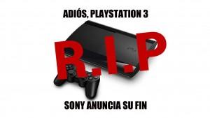 """PS3 deja de distribuirse: """"es el fin de una era"""" según Sony"""