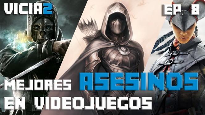 HEADER MEJORES ASESINOS EN VIDEOJUEGOS CLICK SWIPE PLAY