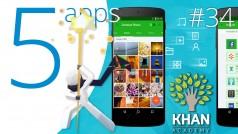 Retoca tus selfies con Adobe Photoshop Fix y descubre: Lucky Trip, Khan Academy, Path to Luma y Xender