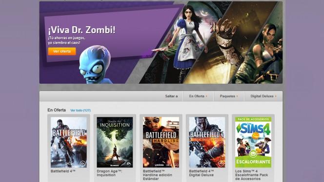 EA Origin tira la casa por la ventana: Mass Effect, Battlefield, los Sims 4... todos al 50% o más