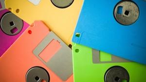 7 usos creativos que pueden tener tus viejos disquetes