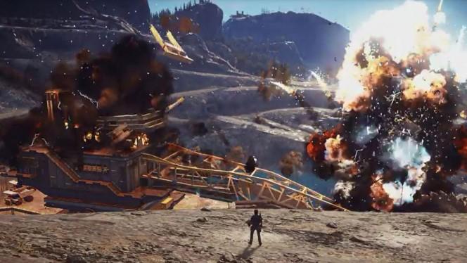 Este nuevo tráiler para PS4, Xbox One y PC incluye las explosiones más espectaculares que verás en mucho tiempo